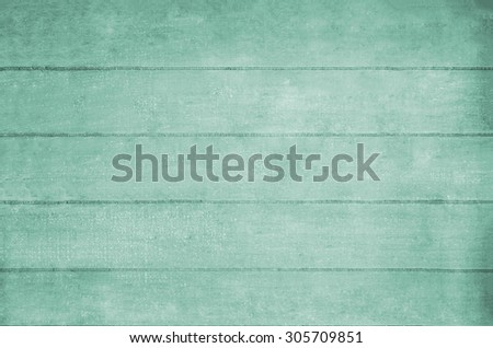 Wooden plank background texture in turquoise hues.   - stock photo