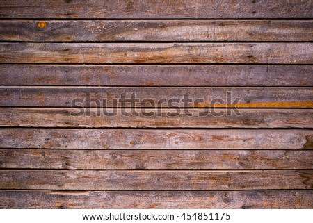 Wooden planked texture as background