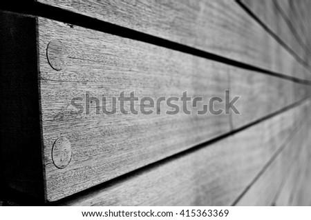 wooden planks - stock photo
