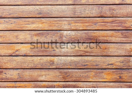 Wooden planks background texture closeup - stock photo