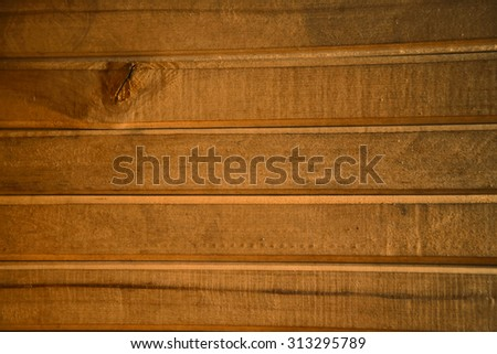 Wooden planks in the background. Wooden wall in the countryside.