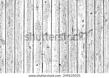 Wooden Planks overlay texture for your design.  - stock photo