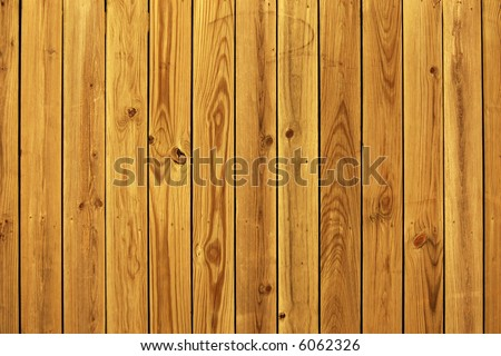 Wooden Privacy Fence Background - stock photo
