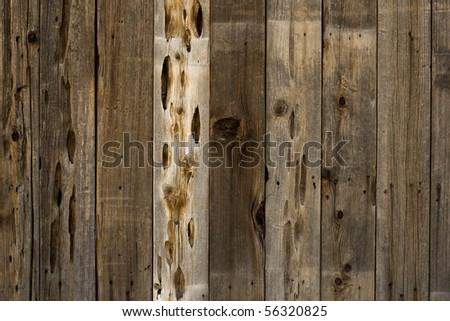 wooden slats - stock photo