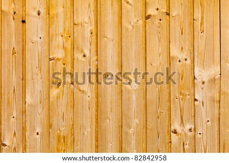 Wooden slot and key floor boards - stock photo