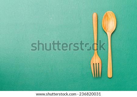 Wooden Spoon  - stock photo