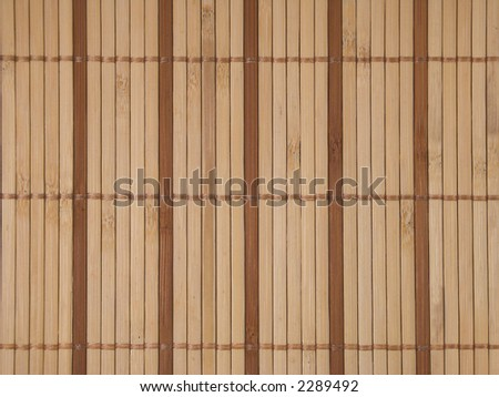 Wooden sticks tied together - texture good for background - stock photo
