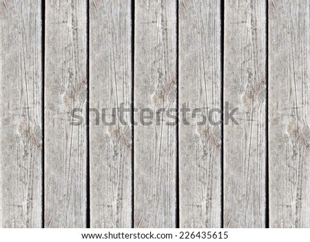 Wooden surface made with one desk. - stock photo