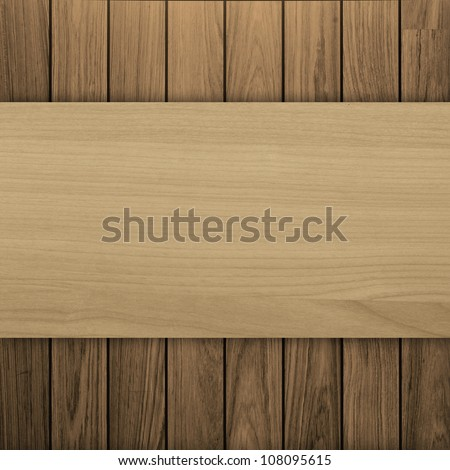 wooden texture background with space for text - stock photo