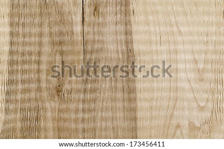 Wooden texture. Color photo of a rough wooden surface. - stock photo