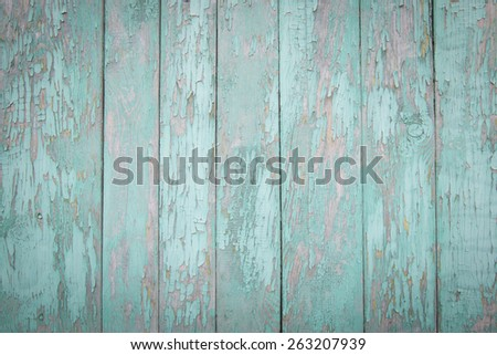 Wooden texture of pastel blue color - stock photo