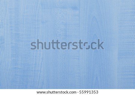 Wooden texture of table in blue color