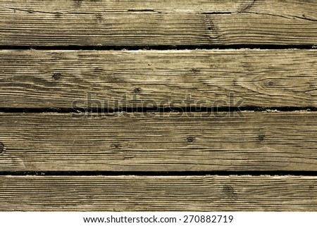 Wooden Texture or Background/ Old Wooden Floor - stock photo