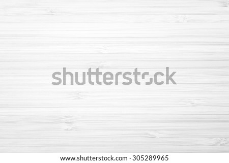 Wooden textured grainy detail backdrop in light white grey color tone: Bamboo wood laminated board detailed texture pattern background in white gray toned colour
