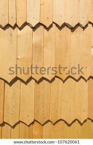 Wooden tile - stock photo
