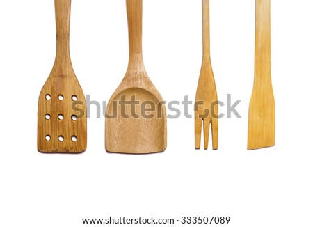 wooden tools for cooking