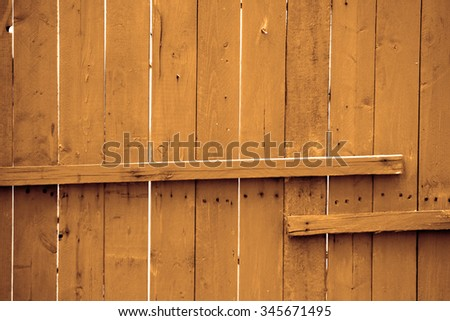 Wooden wall fence background & texture