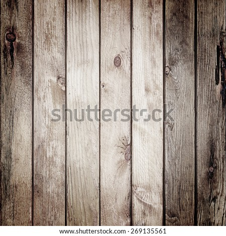 Wooden wall texture for background - stock photo