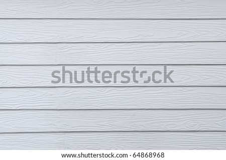 Wooden walls white - stock photo