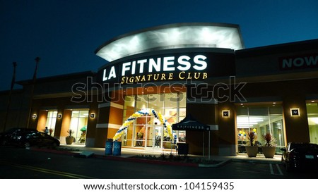 WOODLAND HILLS - JUN 2: Exterior at the Grand Opening Celebrity VIP Reception of the FIRST SIGNATURE LA FITNESS CLUB on June 2, 2012 in Woodland Hills, California