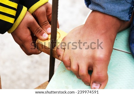 woodworking - stock photo