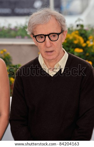 "Woody Allen at the photocall for his new movie ""Vicky Cristina Barcelona"" at the 61st Annual International Film Festival de Cannes. May 17, 2008  Cannes, France. Picture: Paul Smith / Featureflash"