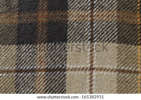 wool material texture in brown colors - stock photo