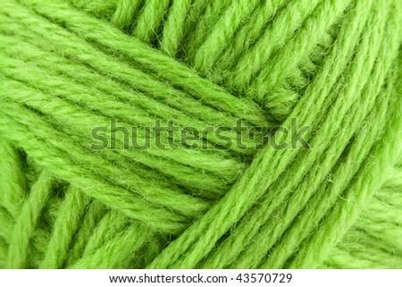 Wool rope background - stock photo
