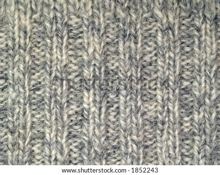 Wool surface one, close-up - stock photo