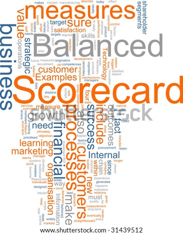 the concept of developing balanced score card A solution was the introduction of the concept of  of this development of the balanced scorecard as  with developing 2nd generation balanced scorecard.