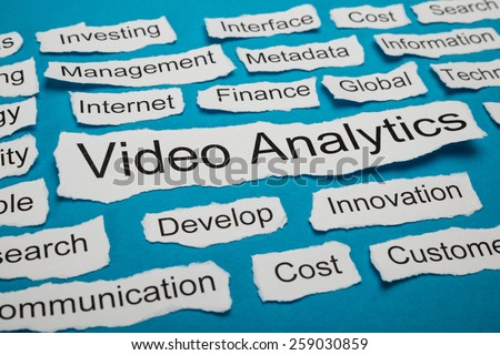 Word Video Analytics On Piece Of Paper Salient Among Other Related Keywords