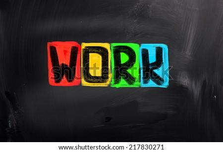 Work Concept - stock photo