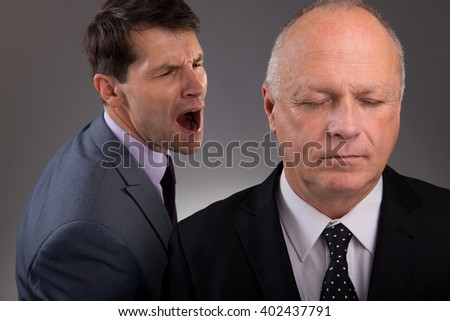Work Frustrations - stock photo