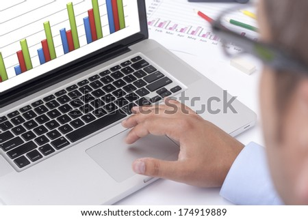 work in the office - stock photo