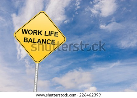 Work Life Balance - stock photo