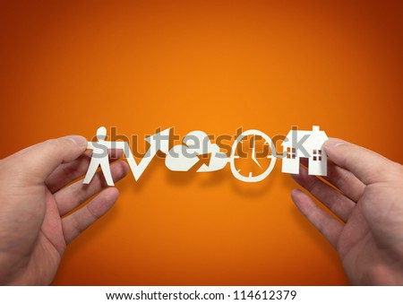 Work Lifestyle - conceptual photography - stock photo