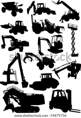 Work Machine - stock photo
