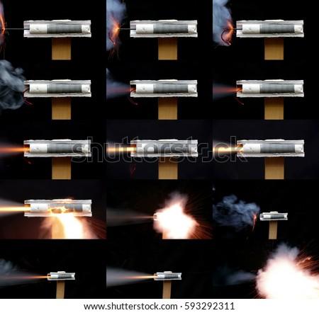 model rocket stock images royalty free images vectors shutterstock. Black Bedroom Furniture Sets. Home Design Ideas