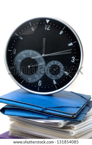 Work on standby of time to be made. - stock photo