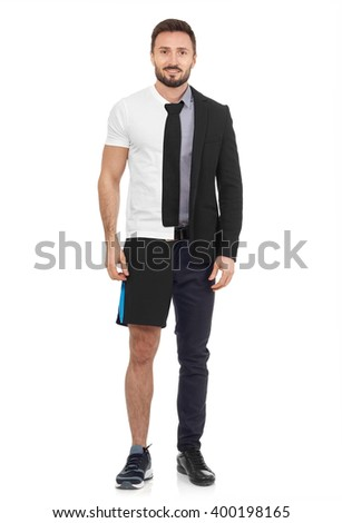 Work or workout? - stock photo