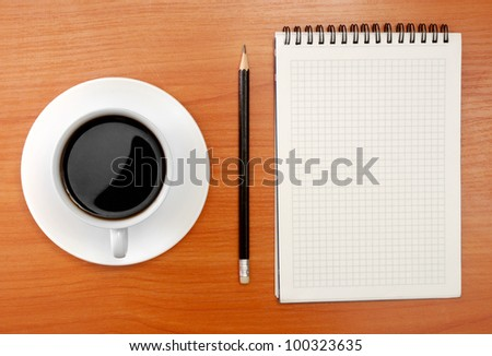 Work place. - stock photo