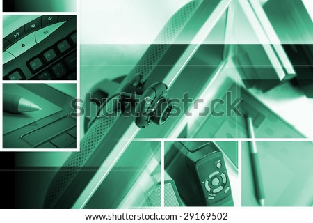 work place concept - stock photo