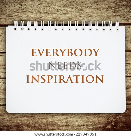 Work quote on white notebook background. Inspiration motivational background. Life quote. - stock photo
