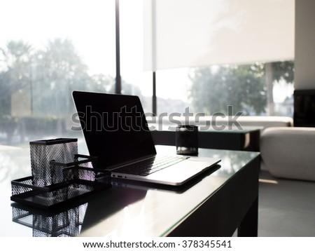Work Space - stock photo