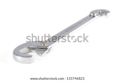 Work Tool - spanner on a white background