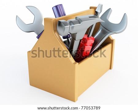 work tools - stock photo