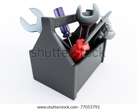 work tools - stock photo