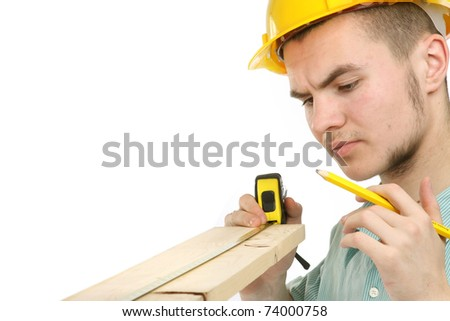 Worker man - stock photo