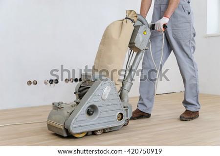 hardwood floor polishing machine