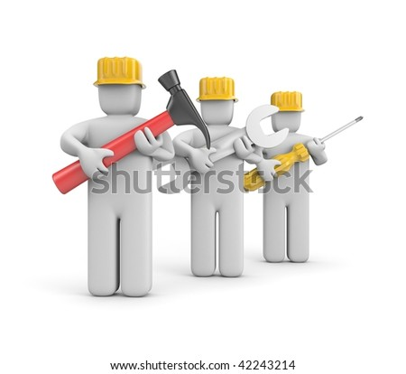 Workers - stock photo